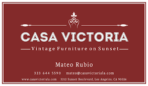 Best Thrift Store Furniture Los Angeles Casa Victoria Vintage Furniture Los Angeles
