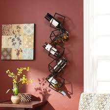 amazon com southern enterprises marco wall mount 5 wine bottle