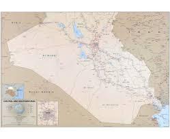 Iraq Province Map Maps Of Iraq Detailed Map Of Iraq In English Tourist Map