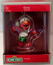 american greetings sesame elmo ornament new in box