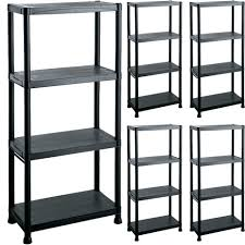 Heavy Duty Garage Shelving by Plastic Garage Shelving Units Shelves Racks Storage Organization