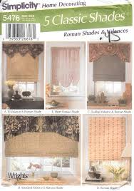 Patterns For Curtain Valances Simplicity Curtain Patterns Curtains Ideas