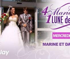 quatre mariages pour une lune de miel replay replay 4 mariages pour 1 lune de miel du 4 octobre 2017 marine