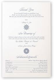 cool wedding programs custom winter snowflake drawings pattern wedding programs with
