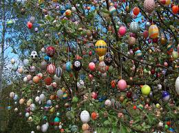 easter egg tree easter egg tree relocates to new tree in saalfeld