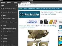 left sidebar best free app of the week dolphin browser hd insight