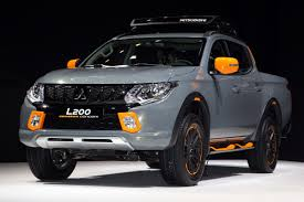 mitsubishi warrior l200 mitsubishi l200 and asx geoseek concepts arrive at geneva auto