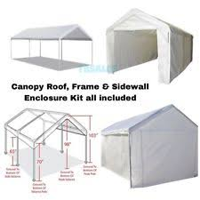 Garage Awning Kit Caravan Canopy Carport Garage Parking Shed Shelter Awning Car Boat