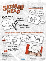 Homemade Games For Adults by Amazon Com Skribble Head The Fast Guessing Draw On Your Own Head