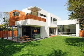 Contemporary A Twostory Modern Style House With No Foundation - Modern style home designs