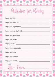 wishes for baby cards wishes for baby shower activity whale baby shower theme for baby