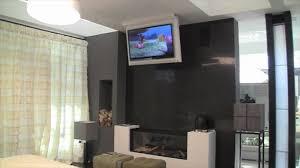 porta tv soffitto tv moving mfcl supporto tv motorizzato da soffitto per tv a