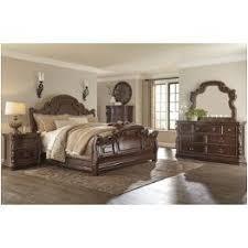b715 36 ashley furniture florentown dark brown bedroom mirror