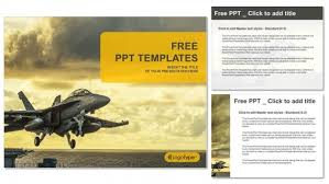 jet fighter taking off from aircraft carrier ppt templates u2013 free