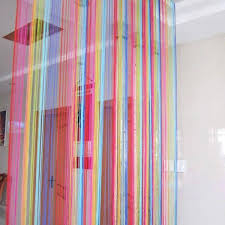 Rainbow Curtain Colorful Rope Rainbow Curtain Lgbt And Pride