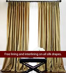 Custom Design Draperies Custom Silk Drapes Drapestyle Com