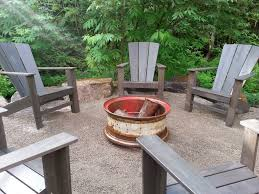 backyard creations fire pit backyard landscape design