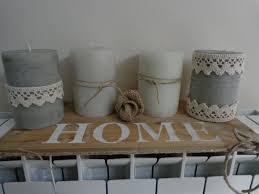 composizione di candele candele country composizione per la casa e per te decorare