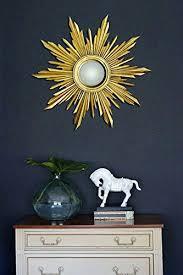 buy mirror from the vanilla vintage round sunburst wall mirror