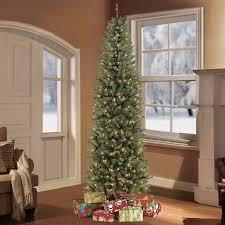 artificial christmas trees multi colored lights puleo international 7 5 pre lit slim fraser fir artificial christmas