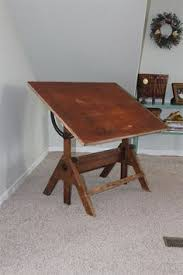 Antique Wood Drafting Table Navigator U0027s Desk Black Trim Wood Shop Ideas Pinterest