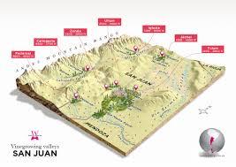 Tulum Map Argentina Wines Of Argentina
