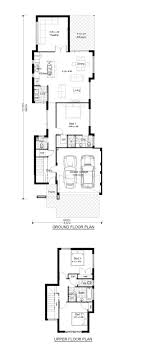 duplex floor plans for narrow lots house plans two narrow lot homes zone