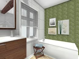 Tile Accent Wall Bathroom Roomsketcher Bathroom Ideas Accent Wall Green Bathroom Tile