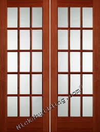 Interior French Doors Toronto - wood interior french doors