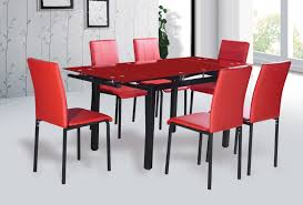 Black Glass Extending Dining Table 6 Chairs Tempered Glass Dining Table Regarding Manufacturers China