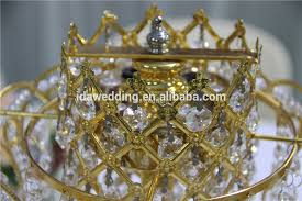 crown centerpieces handmade decorative gold crown centerpieces for wedding table