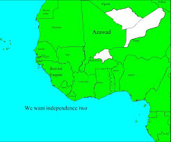 Map Of West Africa by Future Of West Africa Ep 1 Tuareg Federation Youtube