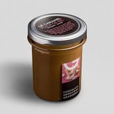 sel de cuisine salted caramel spread 350g chocolats geneviève grandbois