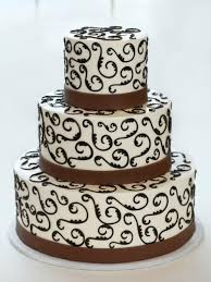 brown cake wedding cake cake a fare wedding cakes designed and decorated