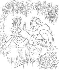 tarzan jane coloring pages 2911 unknown