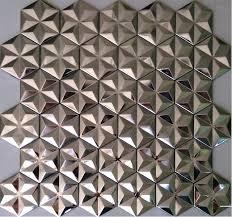 metal wall tiles kitchen backsplash silver metal mosaic stainless steel wall tiles backsplash smmt012