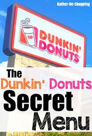 Happy Home Designer Cheats And Secrets Dunkin U0027 Donuts Secret Menu Make A Dunkin U0027 Run With These Secret