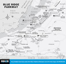Map Of Southern Virginia by Printable Travel Maps Of Virginia Moon Travel Guides