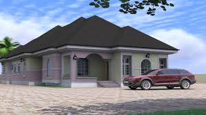 bedroom bungalow house design in nigeria youtube home picture of a