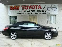 convertible toyota camry 2005 black toyota solara sle v6 convertible 16443815 gtcarlot