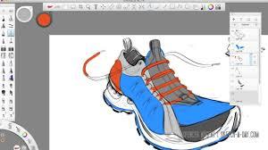 autodesk sketchbook pro shoe sketch youtube