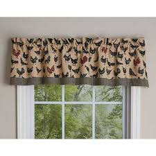Park Designs Curtains Hen Pecked Hens Valance By Park Designs