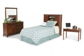 Bookcase Bedroom Sets Chadwick 4 Piece Twin Bookcase Bedroom Set With Desk Bob U0027s