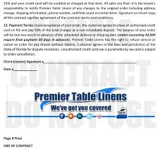 linens rental premier table linens rental program explained