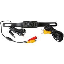 pyle plcm10 license plate mount rear view camera