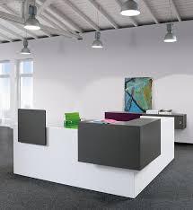 Exhibition Reception Desk with Basic C Reception Desk Modular Panel Based Counter
