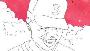 coloring book chance chance the rapper s coloring book is now an actual coloring book