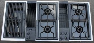 Electric Cooktop With Downdraft Ventilation Jenn Air Downdraft Cooktop Demonstration Youtube