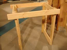how to make a small table how to make a fold down workbench how tos diy
