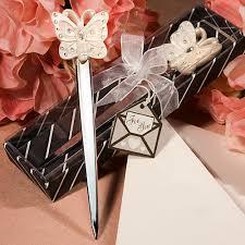 letter opener favors wedding favors butterfly design letter opener wedding favor lg